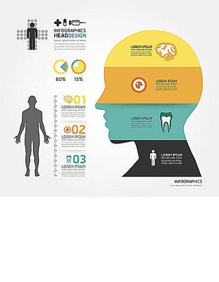 创意大脑思维图表