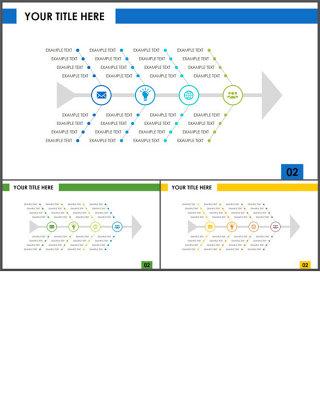 鱼骨图-商业图表-高端商务