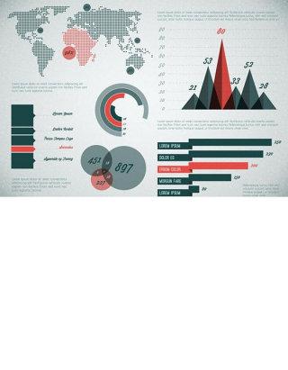 商务金融图表图片