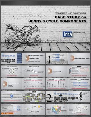 感觉到速度的设计简洁微立体摩托赛车产品市场分析报告ppt模板