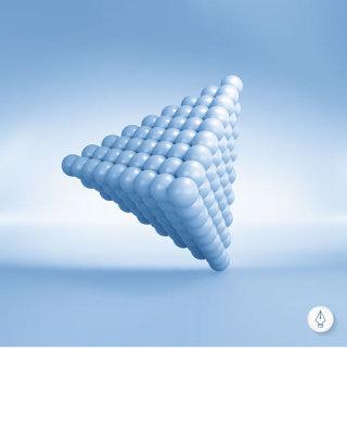 精美金字塔商务信息图表矢量素材
