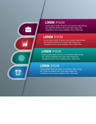 企业战略信息图表