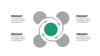 绿灰总分数据关系PPT图表-14