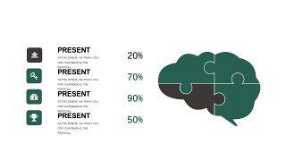 墨绿色创意设计PPT图表-6