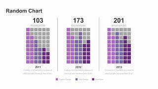 紫色商务对比关系PPT图表-12