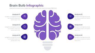 淡紫色循环关系PPT图表-12