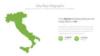 绿色世界地图PPT图表-16