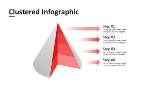 红色简约数据分析PPT图表-23