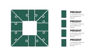 墨绿色创意设计PPT图表-26