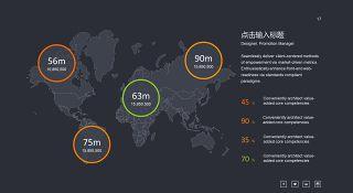 商务数据分析PPT图表之地图-17