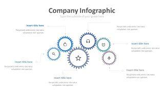 蓝色齿轮商务图表-11