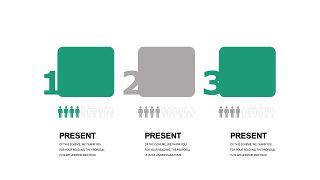 绿灰总分数据关系PPT图表-3