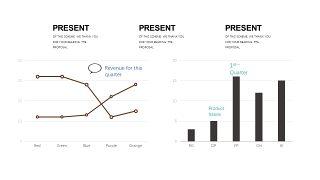 咖啡色数据分析PPT图表-3