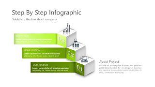 绿色三项关系PPT图表-13