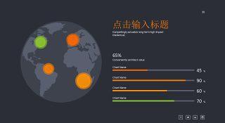 商务数据分析PPT图表之地图-30