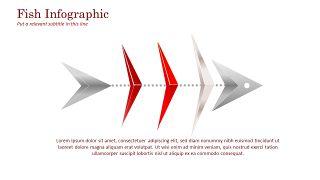 红色鱼骨图和甘特图PPT图表-6