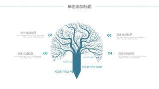 蓝色医学医疗医用PPT图表21