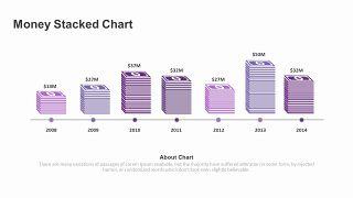 紫色商务对比关系PPT图表-11