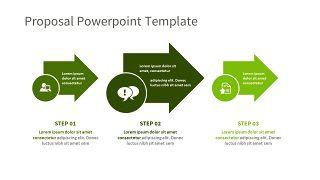 绿色三项关系PPT图表-29