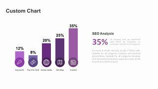 紫色商务对比关系PPT图表-8