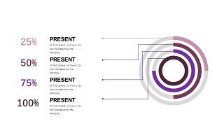深紫色系商务PPT图表-6
