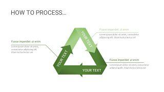 绿色三项关系PPT图表-17