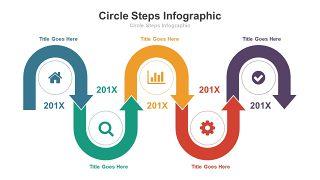 循环递进关系PPT图表-5