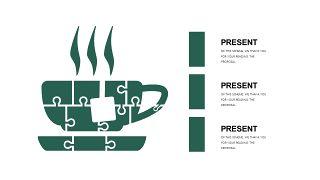 墨绿色创意设计PPT图表-24