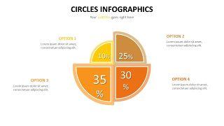 橙黄色并列关系PPT图表-8