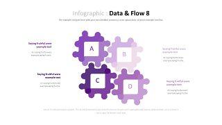 紫色商务对比关系PPT图表-20