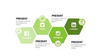 小清新绿色商务PPT图表-2