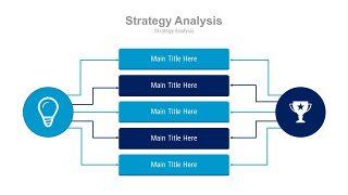 蓝色扁平化流程图PPT图表-23