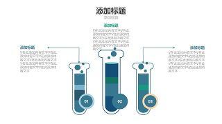 蓝色医学医疗医用PPT图表17