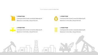 黄色关联关系PPT图表-11
