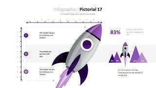 紫色商务对比关系PPT图表-29