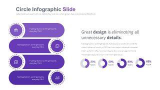淡紫色循环关系PPT图表-19