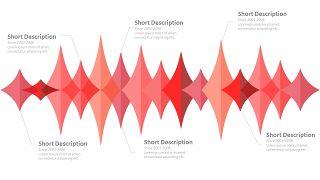 红色鱼骨图和甘特图PPT图表-18