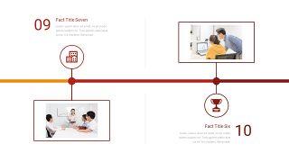 时间轴流程图PPT图表-17