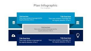 蓝色扁平化流程图PPT图表-25