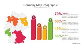 世界地图PPT图表-20