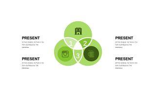 小清新绿色商务PPT图表-19
