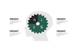 墨绿色创意设计PPT图表-15