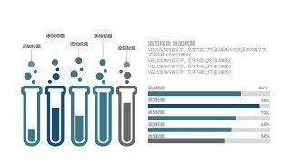 蓝色医学医疗医用PPT图表15