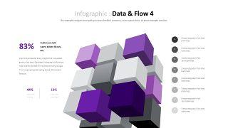 紫色商务对比关系PPT图表-21
