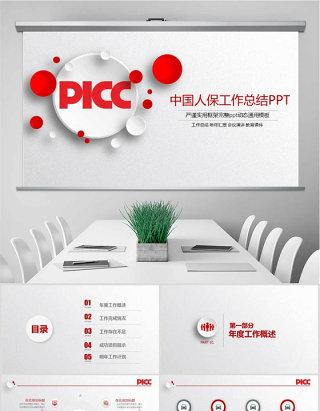 人民保险公司中国人保PPT