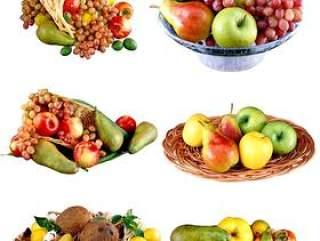 鲜美水果果篮PNG图片