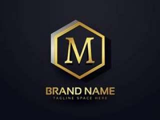 字母M标志高级设计