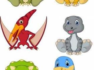逗人喜爱的小恐龙动画片汇集集合
