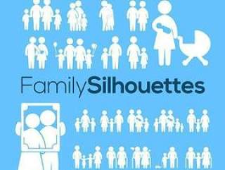 20款家庭人物图标