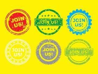 加入我们邮票